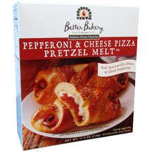 Better Bakery Pepperoni & Cheese Pizza Pretzel Melt
