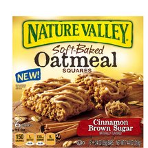 Nature Valley Cinnamon Brown Sugar Soft-Baked Oatmeal Squares