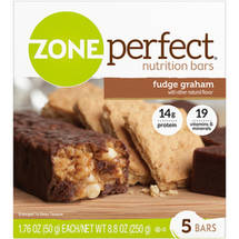 Zone Perfect Fudge Graham 1.76 oz Nutrition Bar