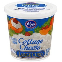 Kroger Large Curd Cottage Cheese