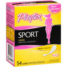 Playtex Sport Regular Liners