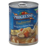 Progresso Traditional Chicken Noodle 99% Fat Free Soup
