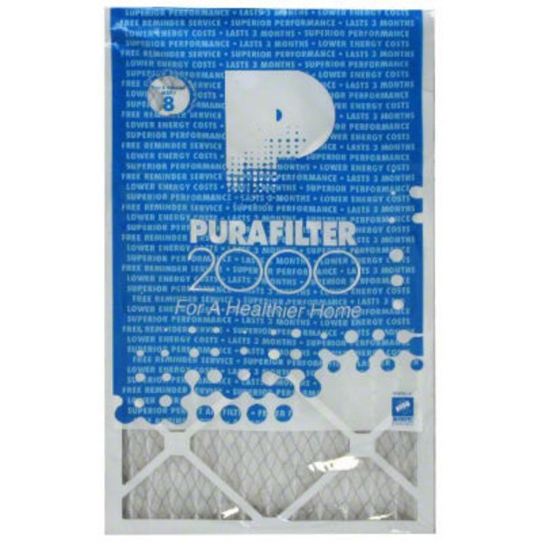 Purafilter 2000 14 X 24 X 1 Merv 8 Air Filter