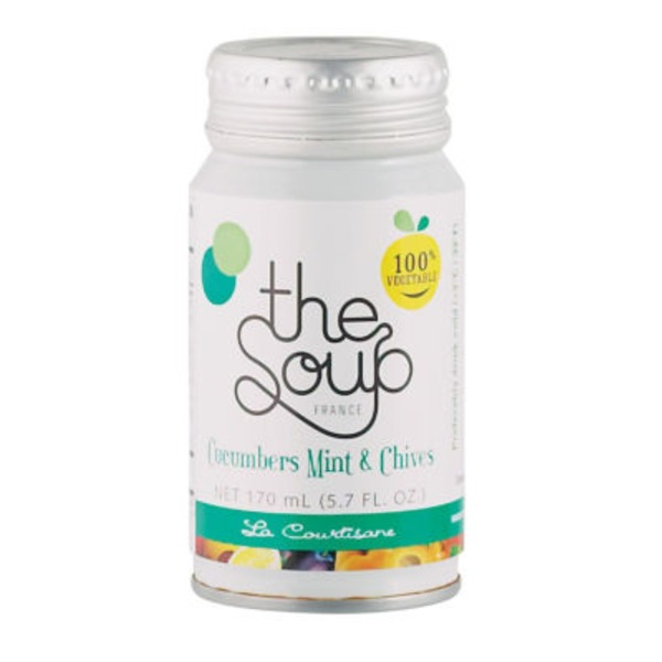 The Soup Cucumber Mint And Chives
