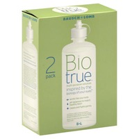 Bausch & Lomb Bausch & Lomb Bio True Multi-Purpose Solution - 2 PK