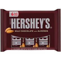 Hersheys Milk Chocolate w/Almonds Candy Bars
