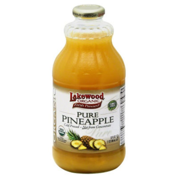 Lakewood Pure Organic Pineapple Juice