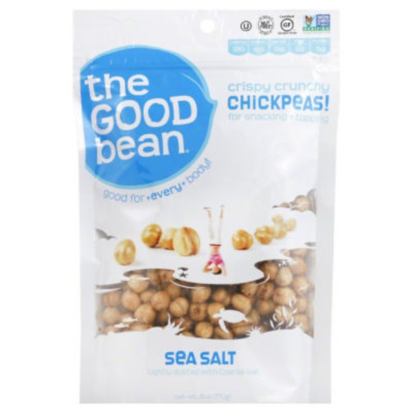 The Good Bean Sea Salt Chickpeas