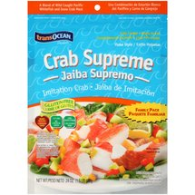 Transocean Products Supreme Flake Style Family Pack Crab
