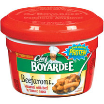 Chef Boyardee Beefaroni With Beef In Tomato Sauce
