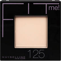 Maybelline New York Fit Me Powder Nude Beige 125