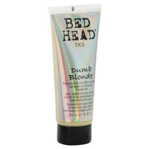 Tigi Bed Head Dumb Blonde Reconstructor For After Highlights Damaged Or Chemically Treated Hair