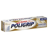 Poligrip Extra Care Denture Adhesive Cream