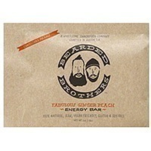 Bearded Brothers Fabulous Ginger Peach Energy Bar