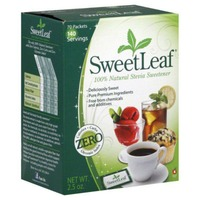 Sweet Leaf Tea Co SweetLeaf Natural Stevia Sweetener Packets - 70 CT