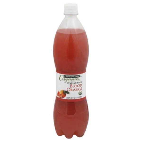 Central Market Blood Orange Italian Soda