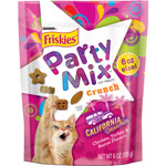 Purina Friskies Party Mix California Dreamin' Crunch Cat Treats