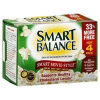 Smart Balance Popcorn, Microwave, Deluxe, Smart Movie-Style, Value Pack