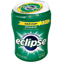 Eclipse Sugar Free Spearmint Big E Pak Chewing Gum