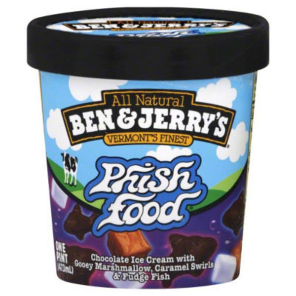 Ben & Jerry's Phish Food Ice Cream