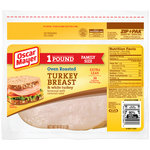 Oscar Mayer Sliced Oven Roasted Turkey Breast & White Turkey