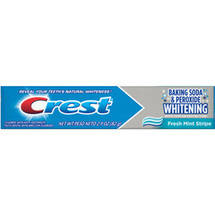 Crest Baking Soda & Peroxide Whitening Fresh Mint Toothpaste