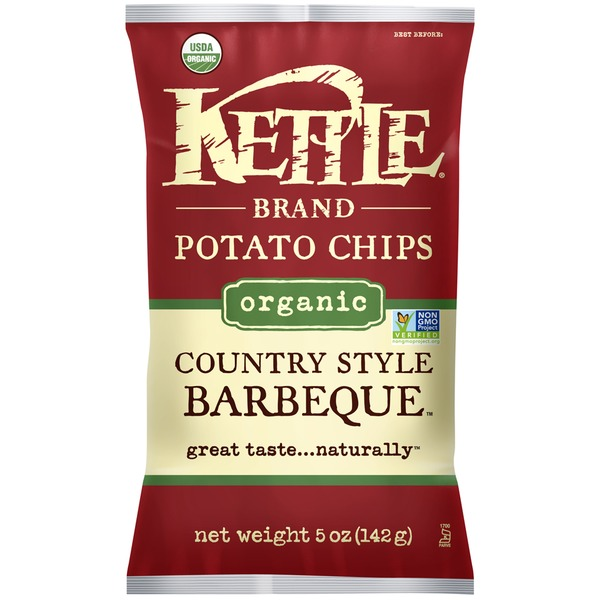 Kettle Brand® Organic Country Style Barbeque Potato Chips