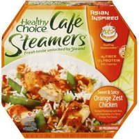Healthy Choice Asian Inspired Sweet & Spicy Orange Zest Chicken Cafe Steamers