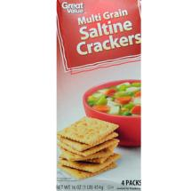 Great Value Whole Grain Saltine Crackers