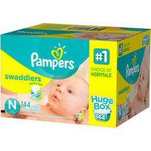 Pampers Swaddlers Diapers Newborn