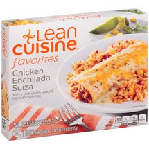 Stouffer's Lean Cuisine One Dish Favorites w/Sour Cream Sauce & Mexican-Style Rice Chicken Enchilada Suiza