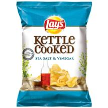 Lay's Kettle Cooked Potato Chips Sea Salt & Vinegar