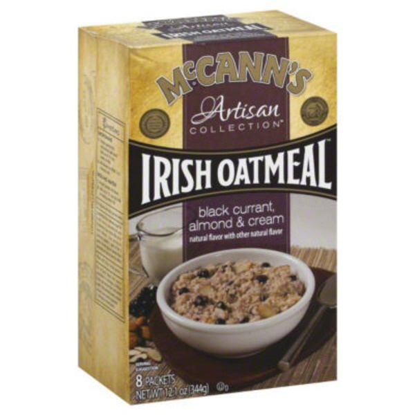 McCann's Black Currant & Almond Instant Oatmeal