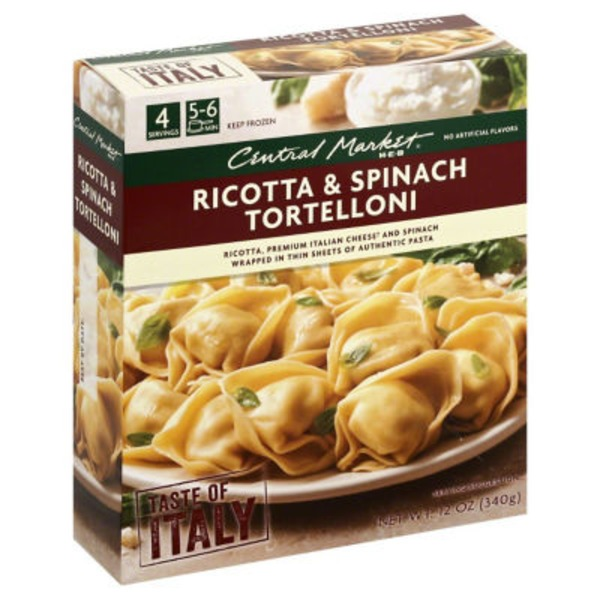 Central Market Ricotta And Spinach Tortellini