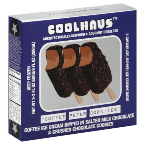 CoolHaus Coffee Peter Cook-Ies Ice Cream Bars