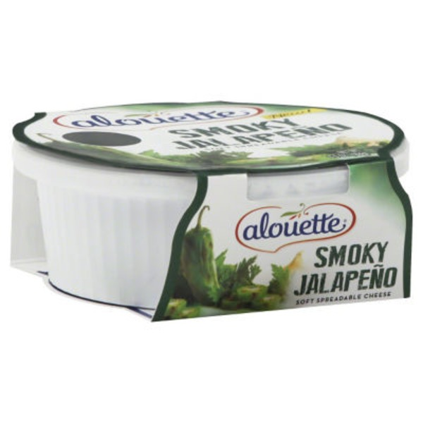 Alouette Smoky Jalapeno Spreadable Cheese