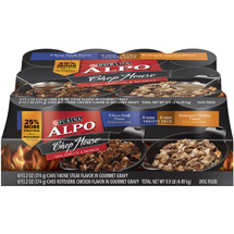 Purina ALPO Chop House Variety Pack Dog Food