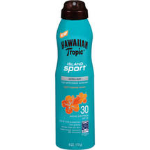 Hawaiian Tropic Island Sport Ultra Light Tropical Scent Spray SPF 30 Sunscreen