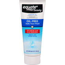 Equate Beauty Oil-Free Daily Face Wash