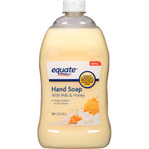 Equate Liquid Hand Soap with Milk & Honey Refill