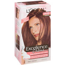 L'Oreal Excellence Creme Triple Protection Light Reddish Brown Warmer 6Rb Hair Color
