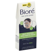 Biore Charcoal Self Heating One Minute Mask