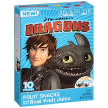 DreamWorks Dragons Fruit Snacks