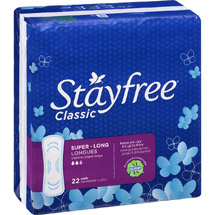 Stayfree Classic Super Long Pads