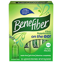 Benefiber on the GO! Fiber Supplement Stick Packs