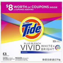 Ultra Tide Plus Bleach Original Powder Laundry Detergent