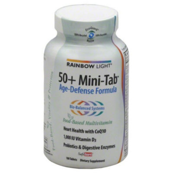 Rainbow Light 50+ Mini-Tab Tablets - 180 CT