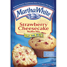 Martha White Muffin Mix Strawberry Cheesecake