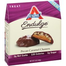 Atkins Endulge Pecan Caramel Clusters Treat