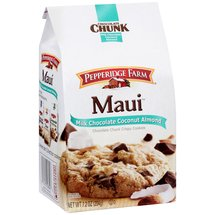 Pepperidge Farm Maui Milk Chocolate Coconut Almond Cookies